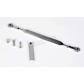 Landmark Ball-Milled Design 12 1/8 inch Stainless Steel Shift Linkage - LM200-6H
