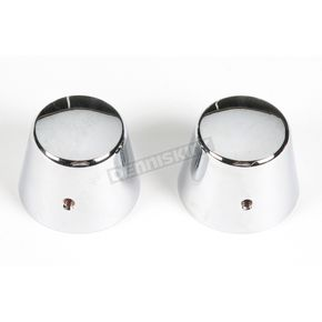 Kuryakyn Chrome Axle Nut Covers - 1213