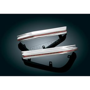 Kuryakyn Chrome LED Rear Fender Corner Trim - 3224