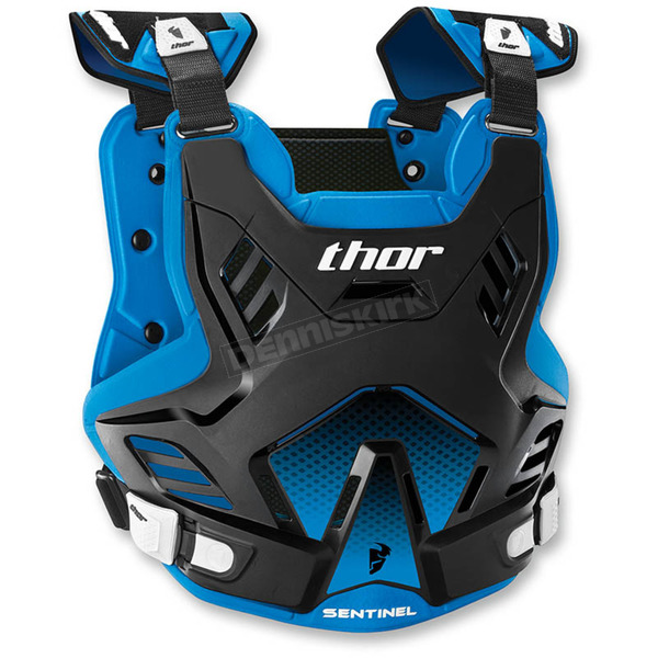 Thor Black/Blue Youth Sentinel GP Roost Deflector - 2701-0760