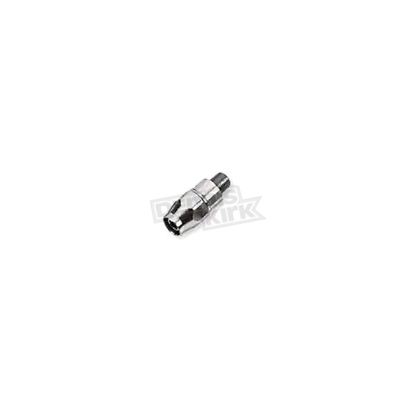 Goodridge Straight 1/8 inch. Chrome Fitting - PHD0103CH
