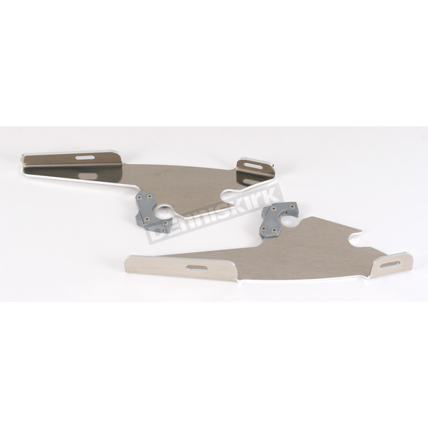 Memphis Shades No-Tool Trigger-Lock Hardware Kit to Change from Sportshield to Fats/Slim - Plates Only - MEM8869