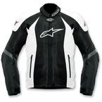 Black/White T-GP-R Air Textile Jacket - 3305112-12-3XL