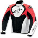Black/White/Red T-Jaws Waterproof Jacket - 3201014-123-L