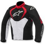 Black/Red/White T-Jaws Waterproof Jacket - 3201014-132-L