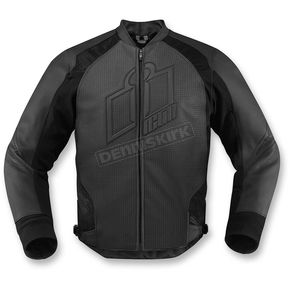Icon Stealth Hypersport Leather Jacket - 2810-2560