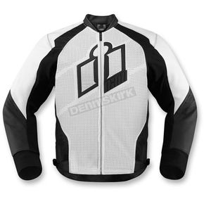 Icon White Hypersport Leather Jacket - 2810-2566