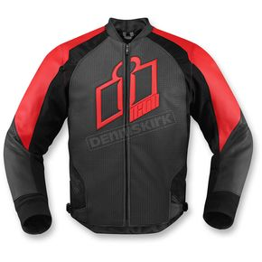 Icon Red Hypersport Leather Jacket - 2810-2571