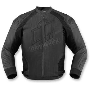 Icon Stealth Hypersport Prime Leather Jacket - 2810-2583