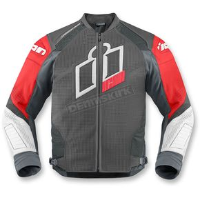Icon Red Hypersport Prime Leather Jacket - 2810-2600