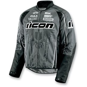 Icon Black Hooligan 2 Threshold Jacket - 2820-1994