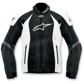 Alpinestars Black/White T-GP-R Air Textile Jacket - 3305112-12-L
