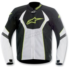 Alpinestars Black/White T-GP-R Air Textile Jacket - 3305112-125-L
