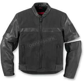 Icon Outsider Convertible Leather Jacket - 2820-2469