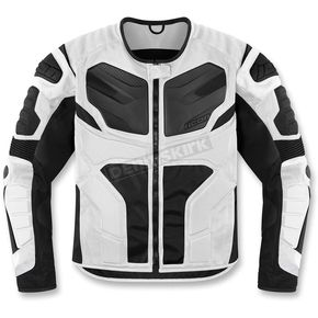 Icon White Overlord Resistance Jacket - 2820-2678