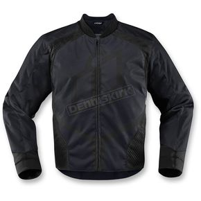 Icon Black Overlord 2 Jacket - 2820-3089