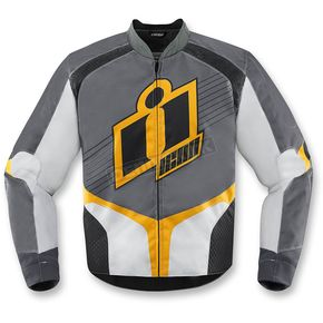 Icon Yellow Overlord 2 Jacket - 2820-3122