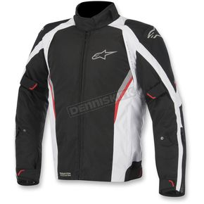 Alpinestars Black/White/Red Megaton Drystar Jacket - 3207615-123-M