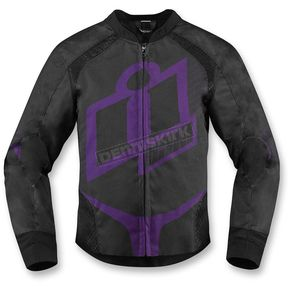 Icon Womens Purple Overlord 2 Jacket - 2822-0726