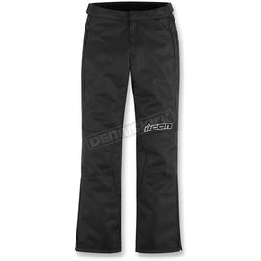 Icon Womens Black Hella Pants - 2823-0076