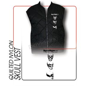 Throttle Threads Skull Vest  - TT60J24BK2R
