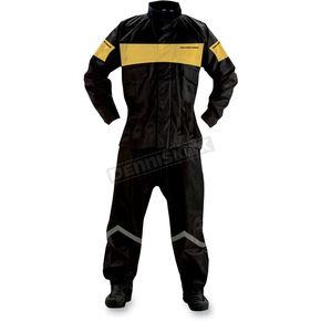 Nelson-Rigg Black/Yellow PS-1000 ProStorm Rain Suit - PS1000YEL06-3XL