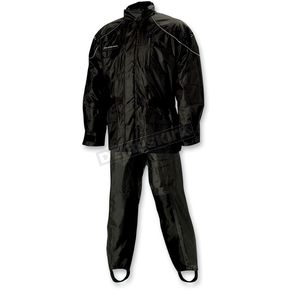 Nelson-Rigg Black AS-3000 Aston Rain Suit - AS3000BLK07-4XL