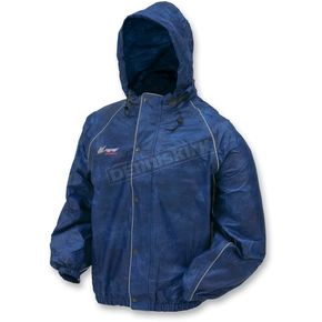 Frogg Toggs Outerwear Royal Blue Road Toad Rain Jacket - FT1032128LG