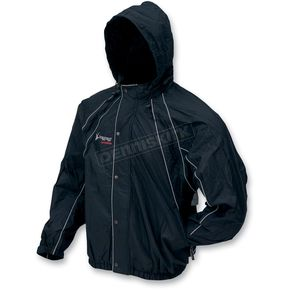 Frogg Toggs Outerwear Black H-Toadz Rain Jacket - NHT65115-01LG