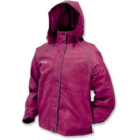 Frogg Toggs Womens Black Cherry Tekk Toad Rain Jacket - TT6059-15LG