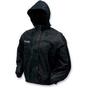 Frogg Toggs Outerwear Womens Black Pro Action Rain Jacket - PA6350201LG