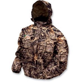 Frogg Toggs Outerwear Realtree Advantage Max4 Pro Action Camo Rain Jacket - 34-23026XXXL