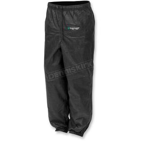 Frogg Toggs Womens Black Pro Action™ Rain Pants - PA83522-01LG