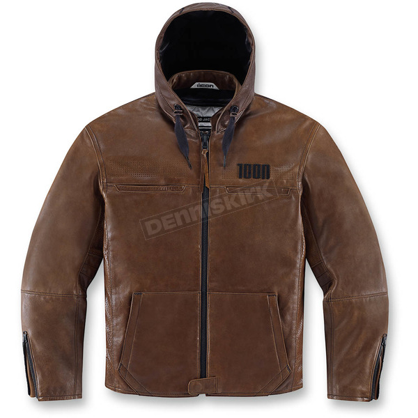 Icon Brown The Hood Jacket - 2810-2554