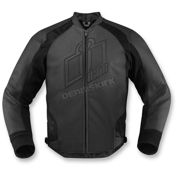 Icon Stealth Hypersport Leather Jacket - 2810-2564