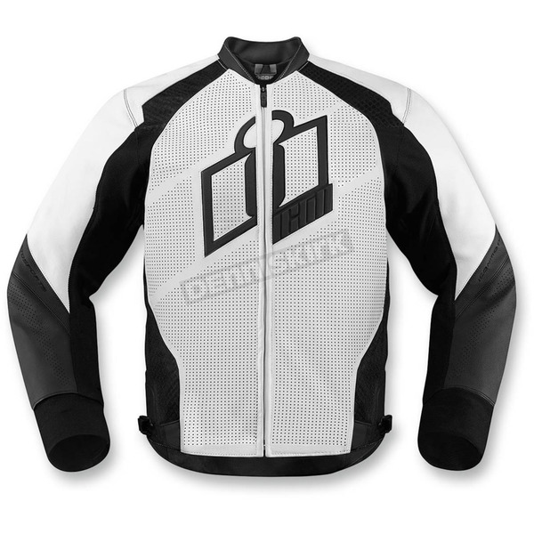Icon White Hypersport Leather Jacket - 2810-2568