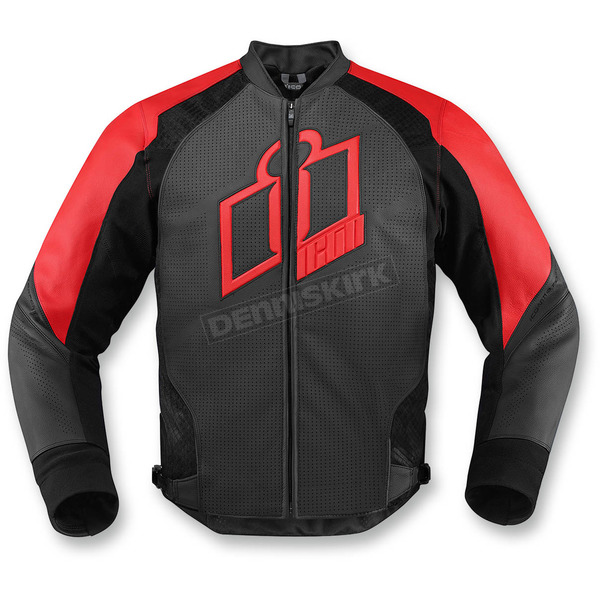 Icon Red Hypersport Leather Jacket - 2810-2572