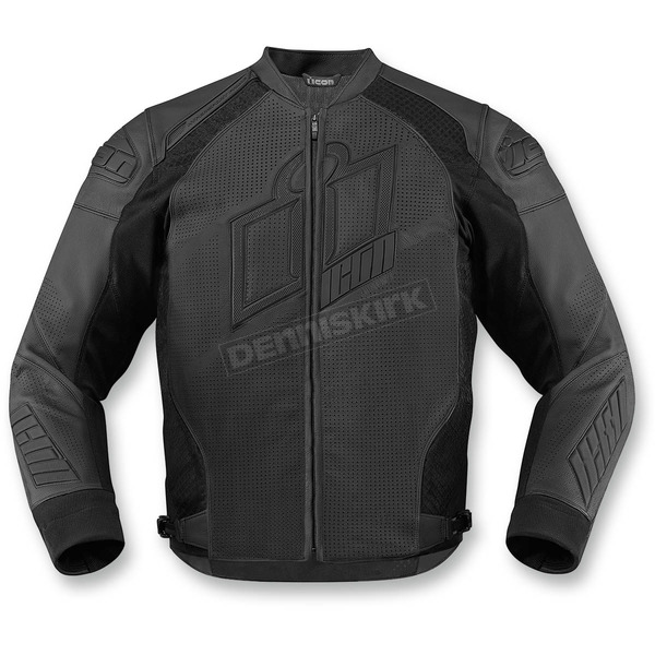 Icon Stealth Hypersport Prime Leather Jacket - 2810-2581