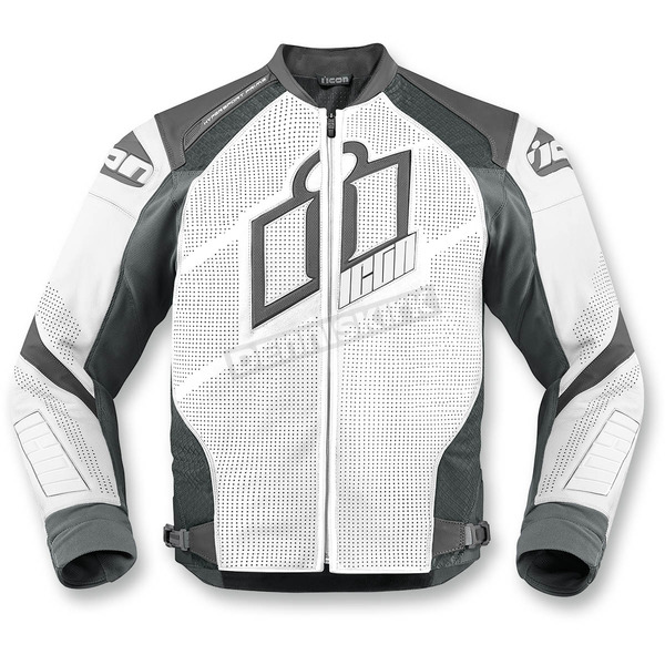 Icon White Hypersport Prime Leather Jacket - 2810-2595