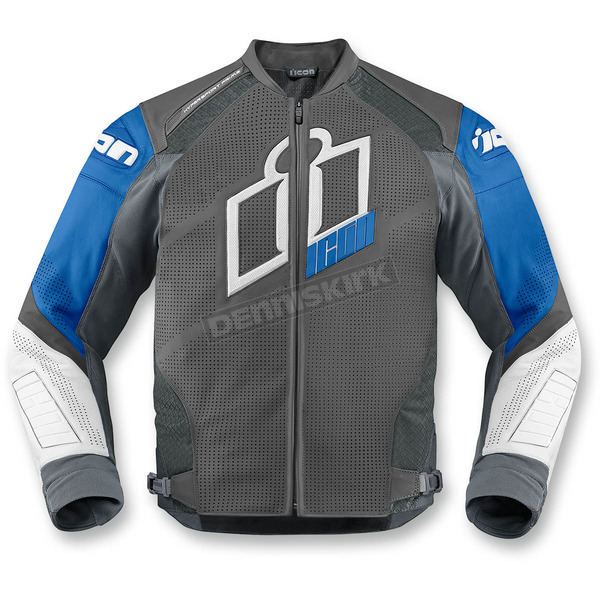 Icon Blue Hypersport Prime Leather Jacket - 2810-2605
