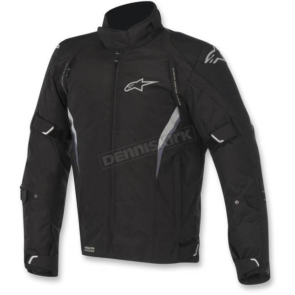 Alpinestars Black Megaton Drystar Jacket - 3207615-10-XL