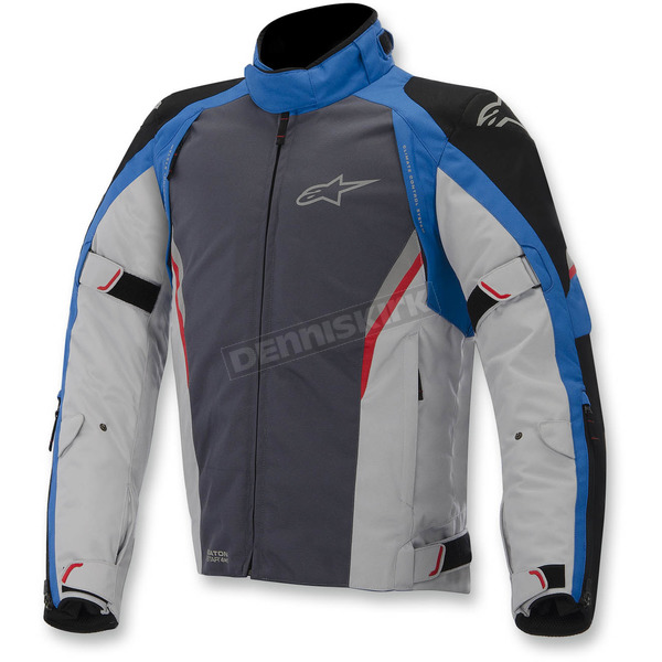 Alpinestars Black/Blue/Gray/Red Megaton Drystar Jacket - 3207615-1713-3X