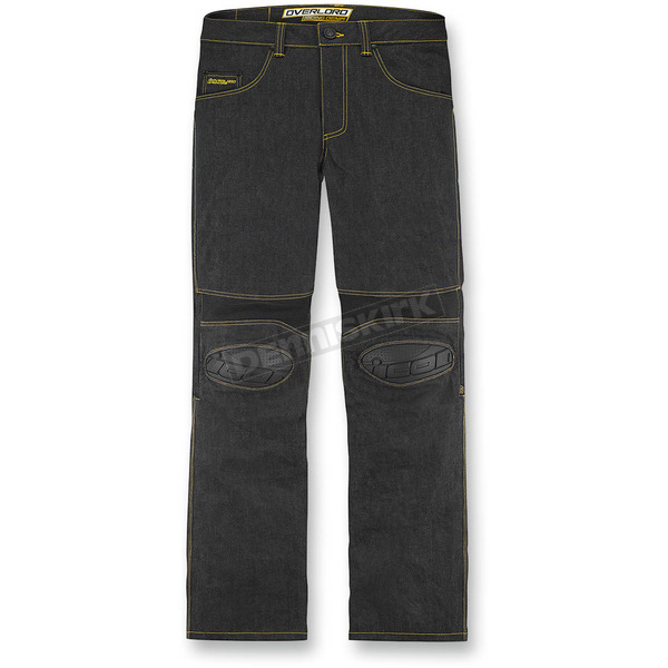 Icon Dark Indigo Overlord Riding Pants - 2821-0705