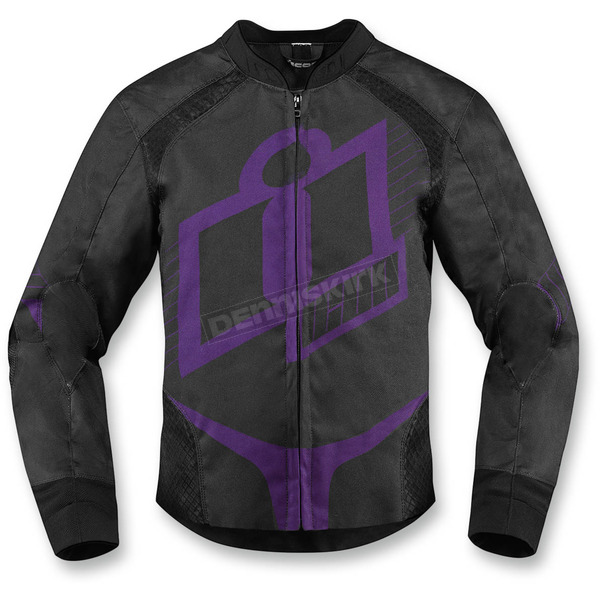 Icon Womens Purple Overlord 2 Jacket - 2822-0723