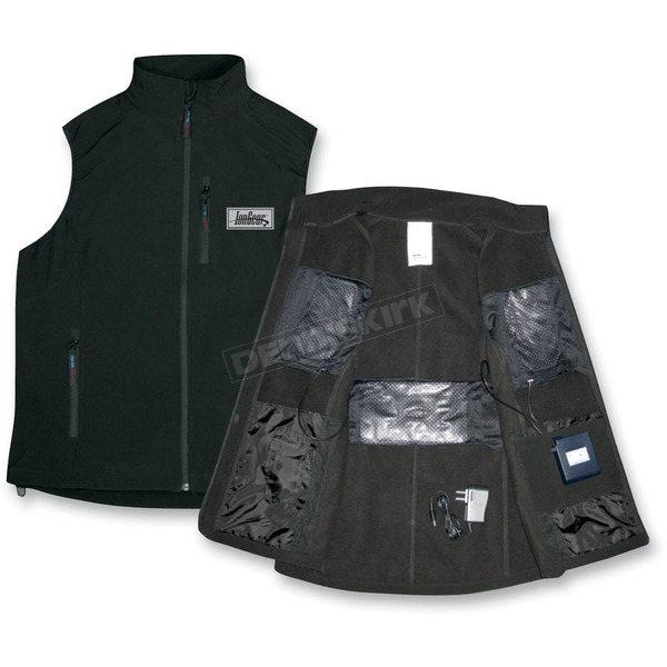 IonGear Battery Powered Heated Vest - 5627-BK-L