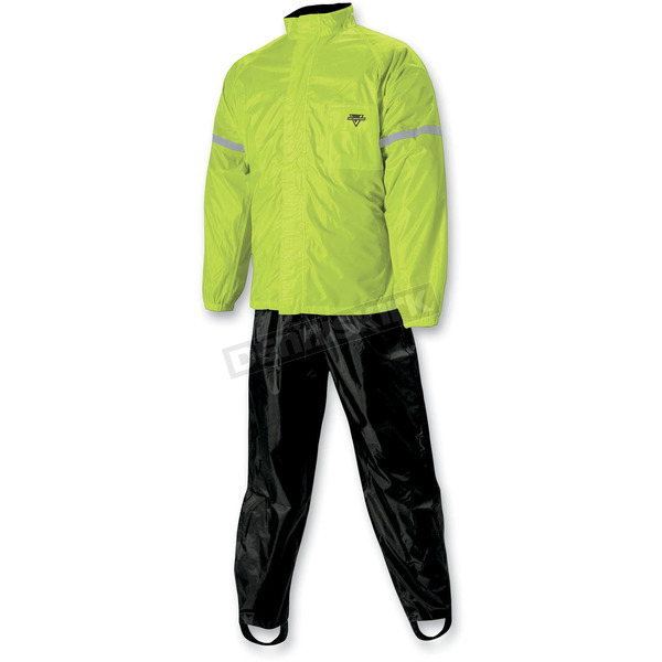 Nelson-Rigg Hi-Visibility Yellow WP-8000 Weather Pro Rain Suit - WP8000HVY01SM