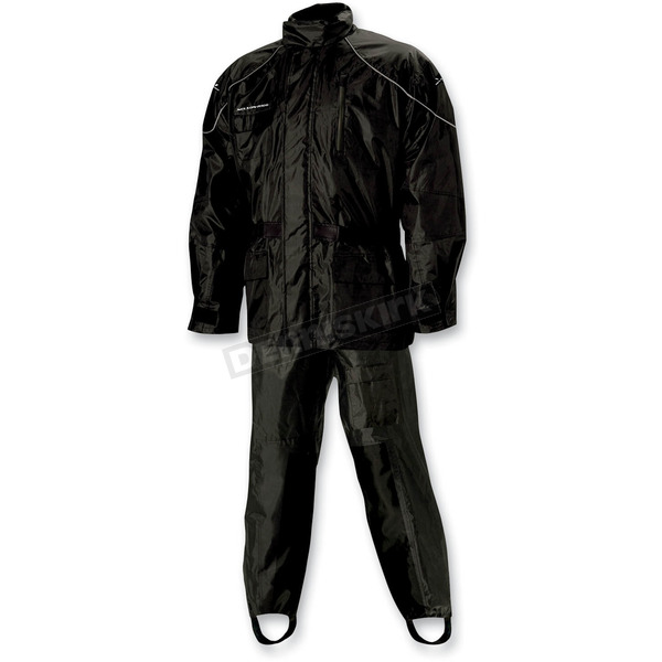 Nelson-Rigg Black AS-3000 Aston Rain Suit - AS3000BLK02MD