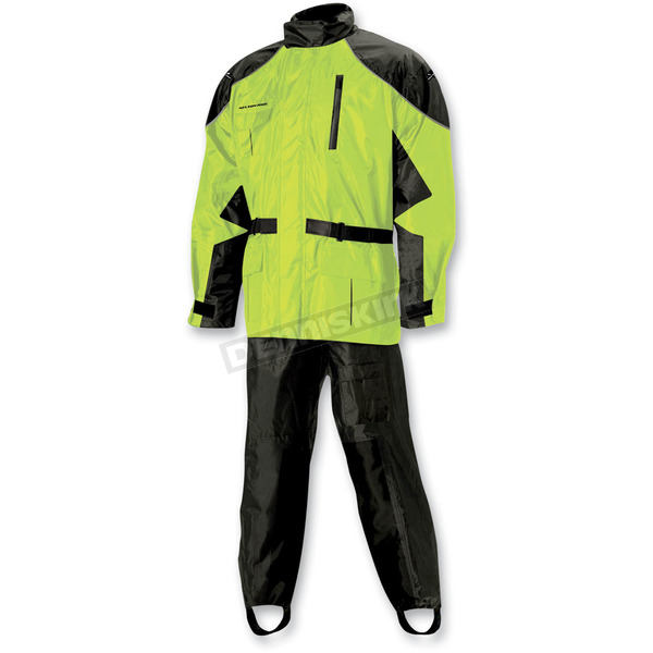 Nelson-Rigg Hi-Visibility Yellow AS-3000 Aston Rain Suit - AS3000HVY03LG