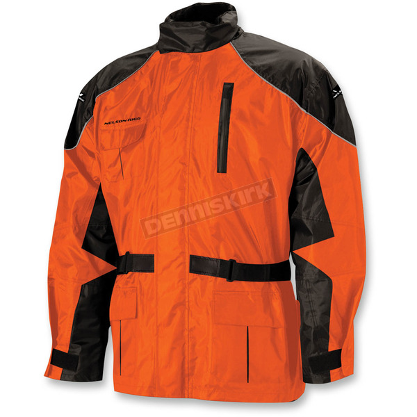 Nelson-Rigg Orange AS-3000 Aston 2-Piece Rainsuit - AS3000ORG05XX