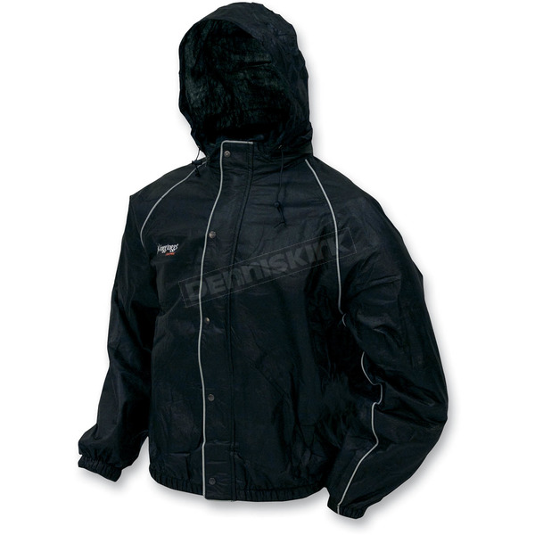 Frogg Toggs Black Road Toad Rain Jacket - FT63132-012X